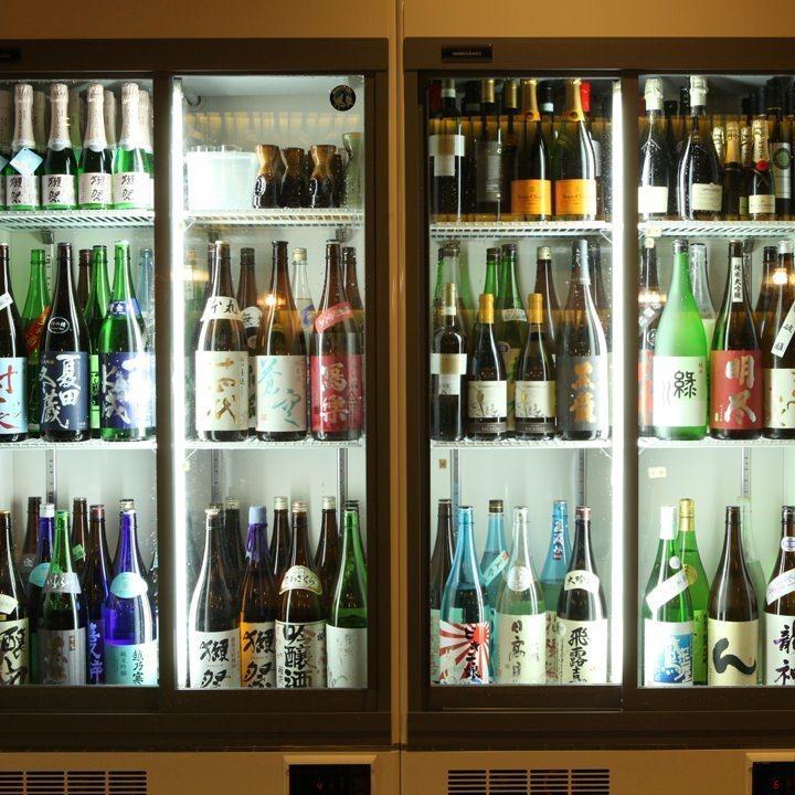 2時間飲み放題【生ビール、日本酒25種以上など】※単品注文可