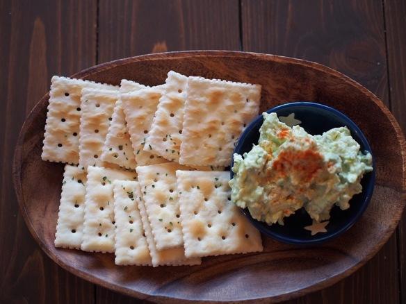 アボカドクリームチーズのディップ