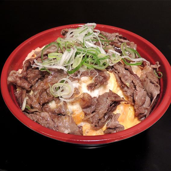 和牛とじ丼(900)