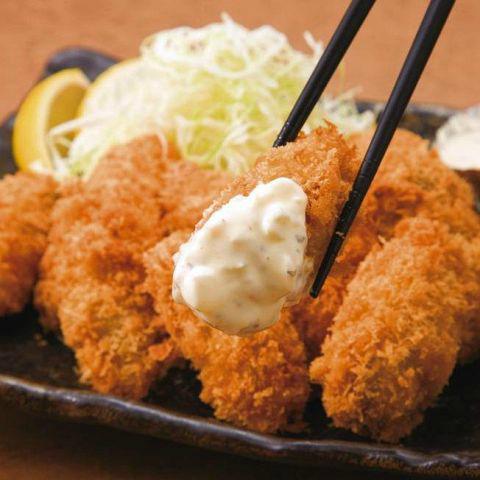 牡蠣フライ(680円)