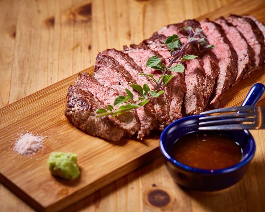 ランイチの牛ステーキ(200g)(¥1580)