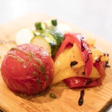 グリル野菜 3種盛り(800円(税別))