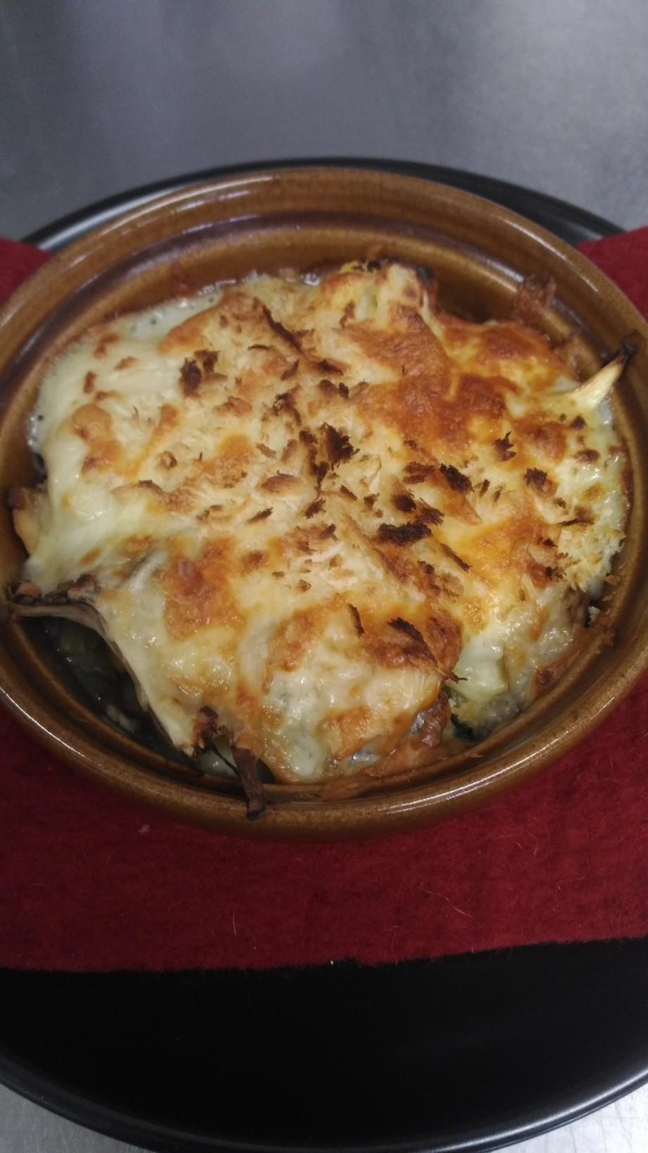秋鮭ときのこと旬野菜の豆乳白みそグラタンセット