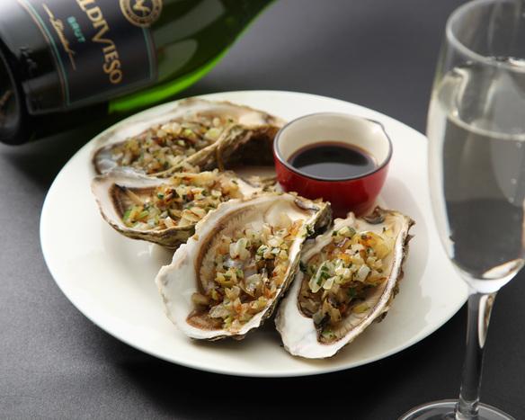 牡蠣のソテー・シャリアピンソース