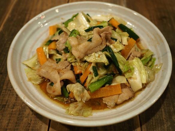 スタミナ野菜炒め