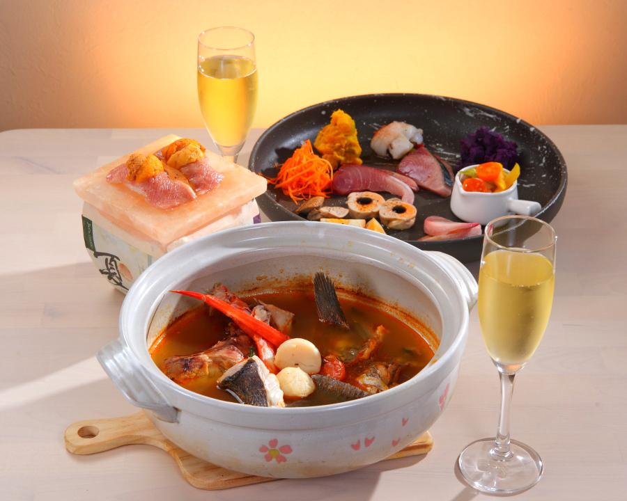冬の女子会・忘新年会コース(2名様より)今年の冬はクロサキスイサンで(*^^*)(¥3500)
