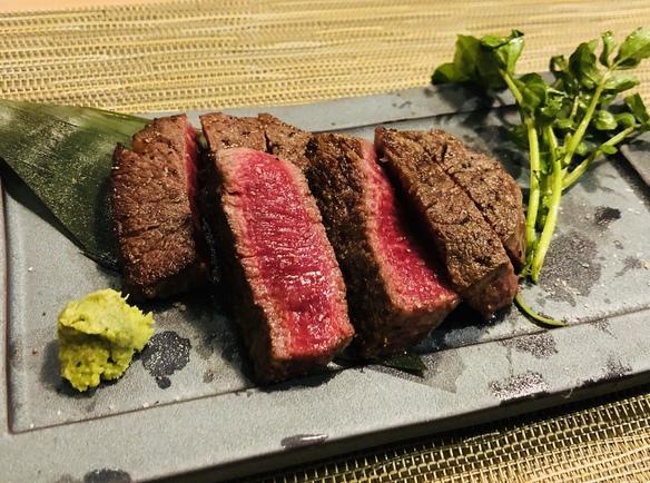 甲州牛フィレ(ヒレ)ステーキ 120g