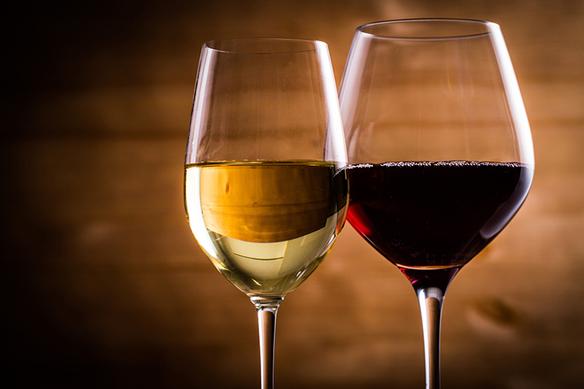 グラスワイン(赤、白)