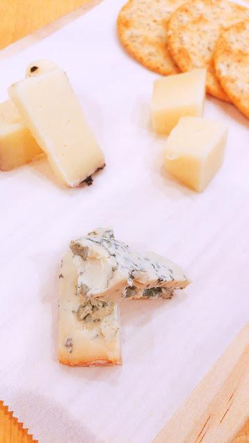 今月のチーズ盛り