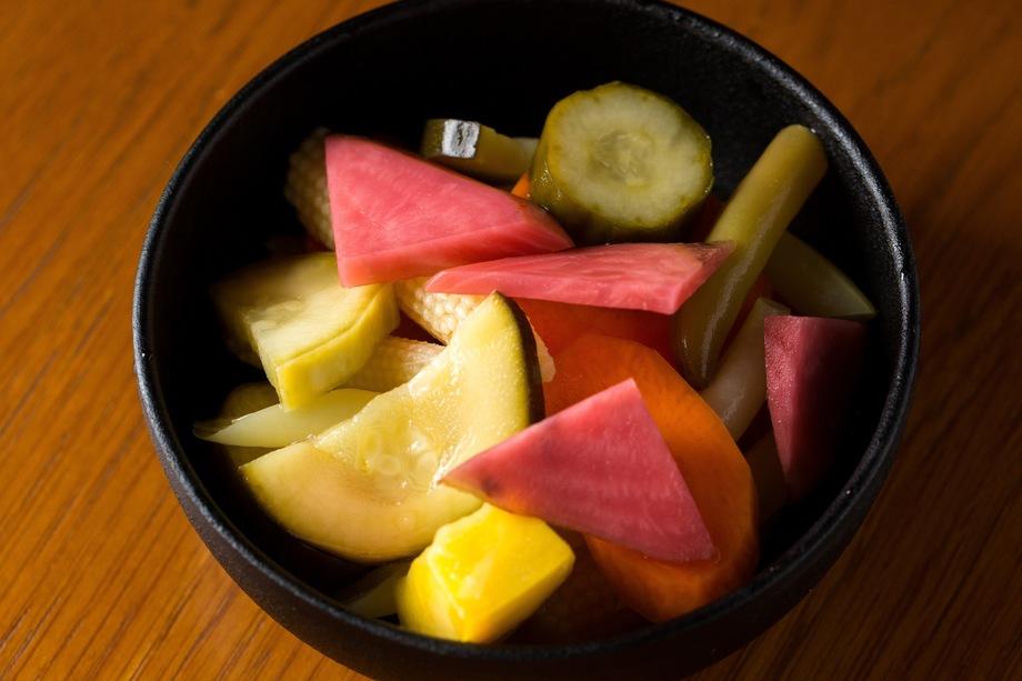 東京野菜のピクルス