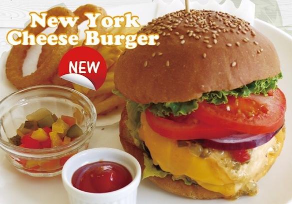 ニューヨークチェダーチーズバーガー