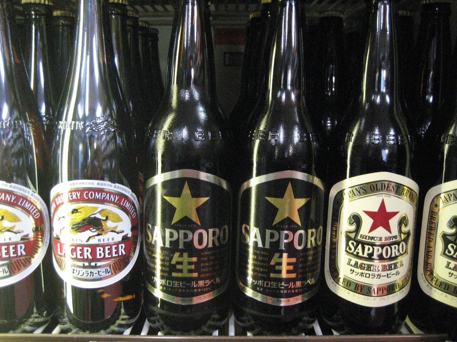 びんビール(各メーカーから好きな銘柄を)