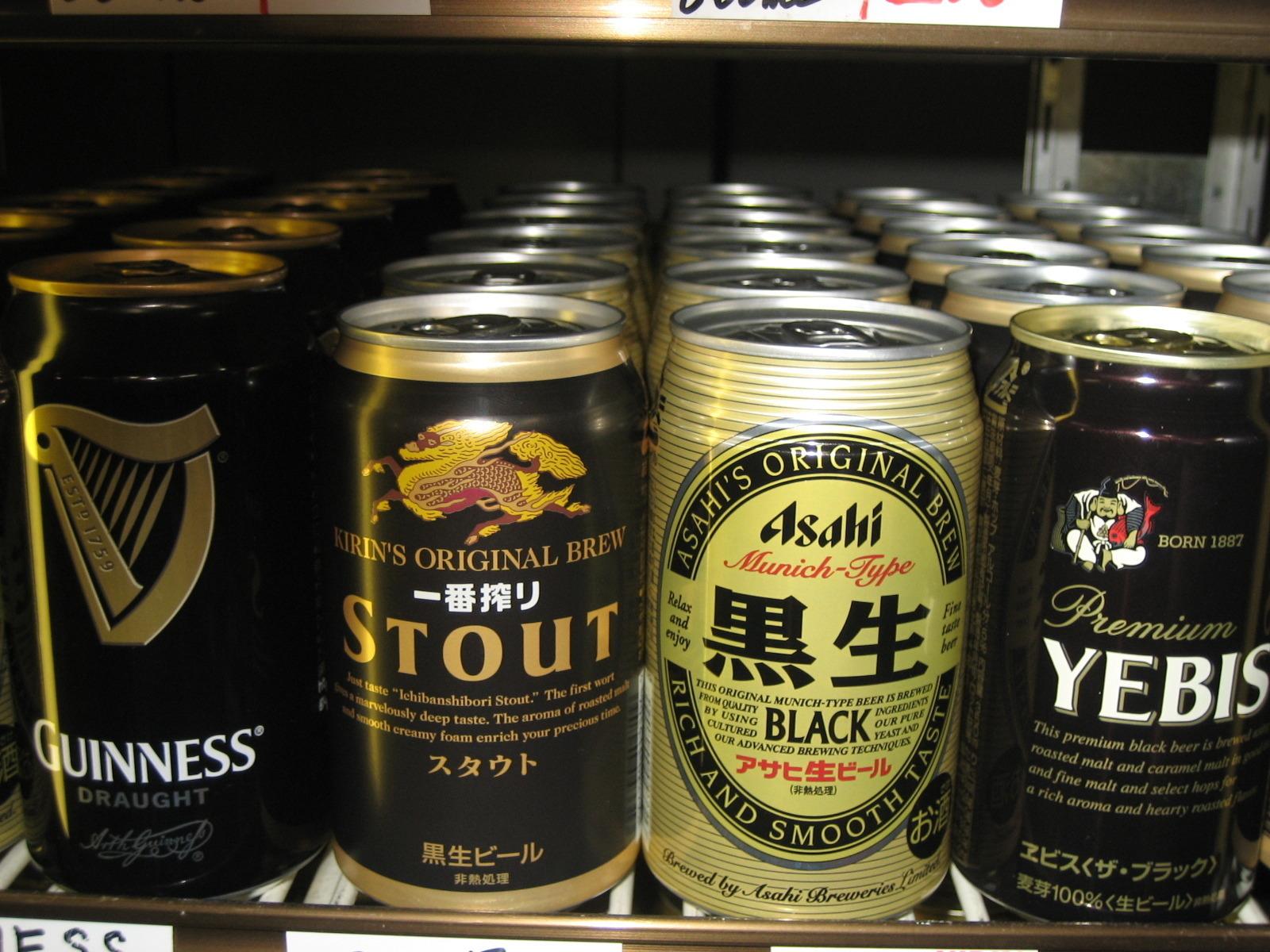 缶ビール(発泡酒、黒ビール、外国ビールなど)