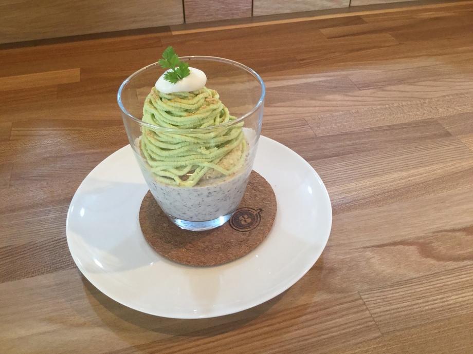 季節のモンブラン(枝豆モンブラン)(620)