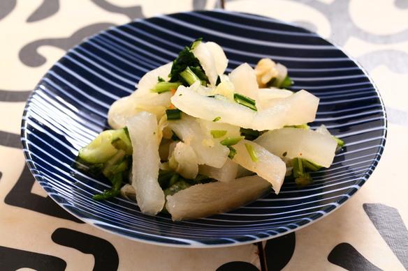 うまみ大根と白菜の浅漬け