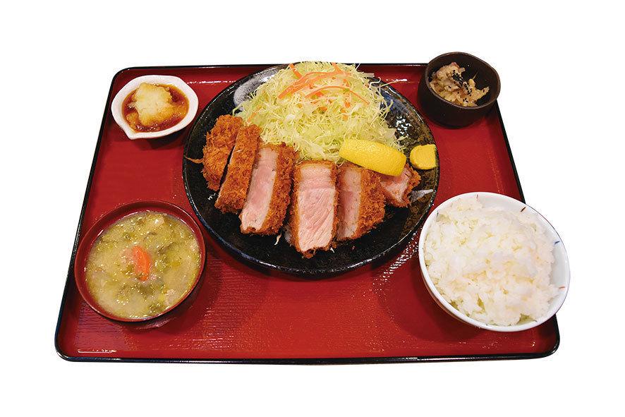 【新商品】嬉嬉豚熟成肉「ねむる豚おふトン」 ロースとんかつ200g(1600円)