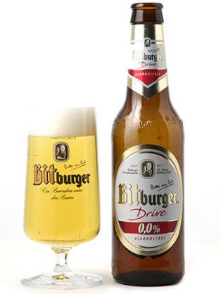 ドイツのプレミアム・アルコール フリー ビール ・ビットブルガー