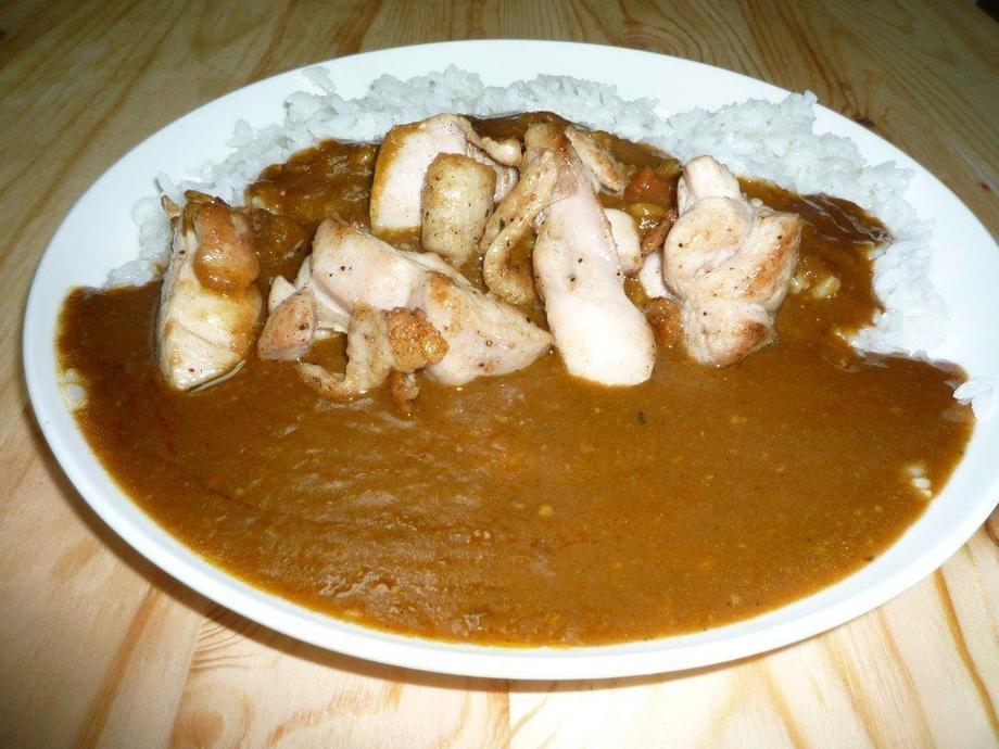 鶏モモジューシーカレー