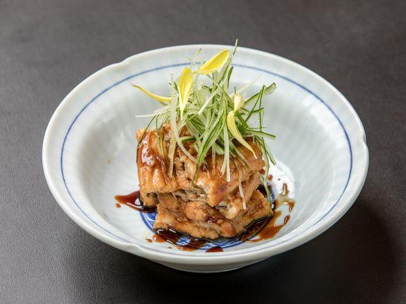 【肴】 特製煮出汁の関東煮穴子