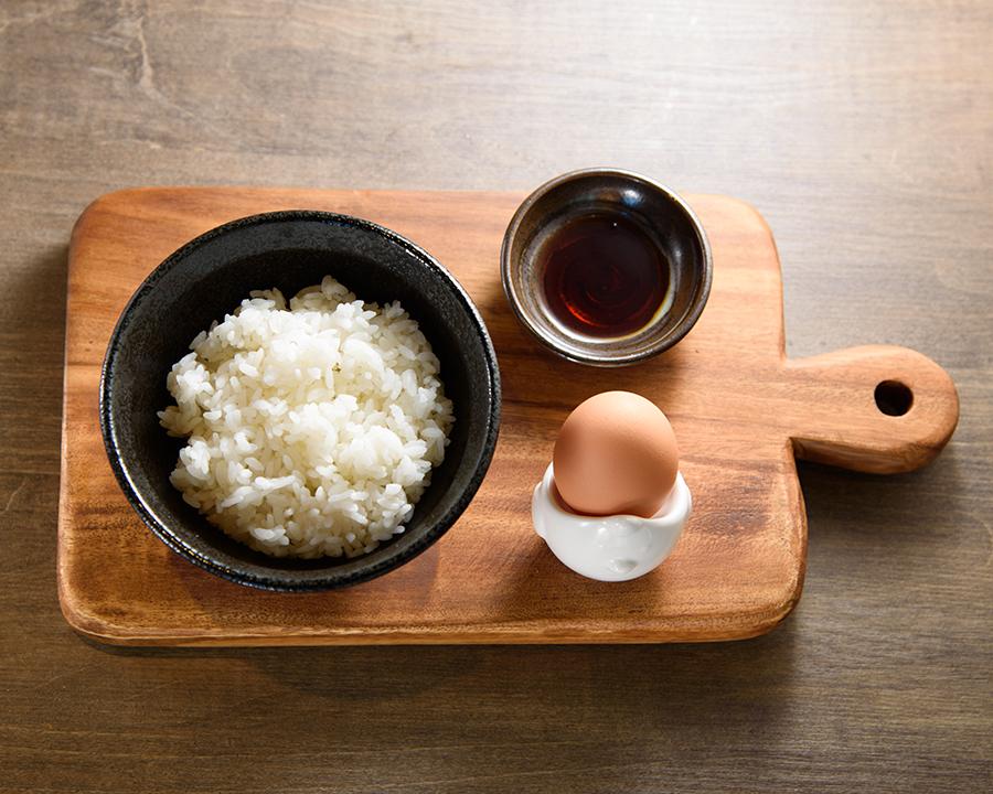 三浦有精卵のTKG(480円)