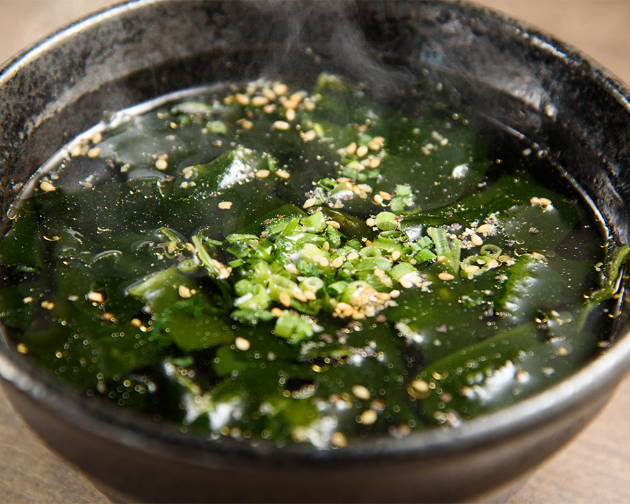 わかめスープ(480円)