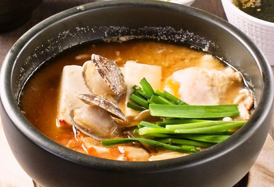 豆腐チゲ鍋(980円)