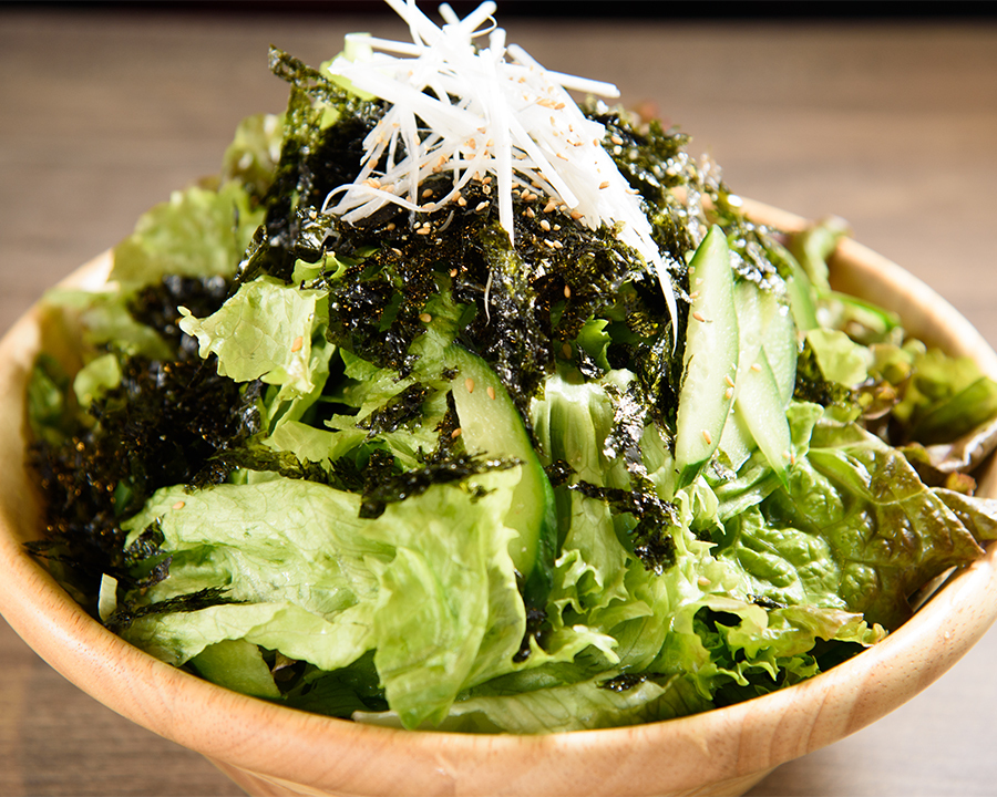 やみつき海苔サラダ(580円)
