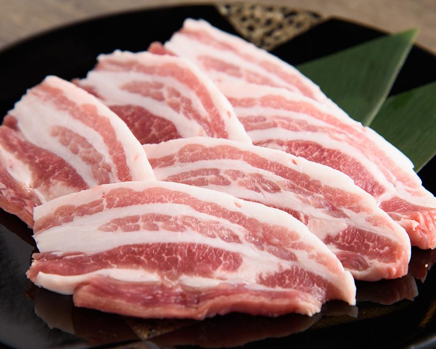米沢ポークの豚バラ(780円)