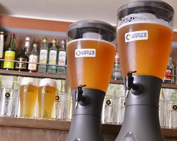 樽生ビール・タワーサーバー