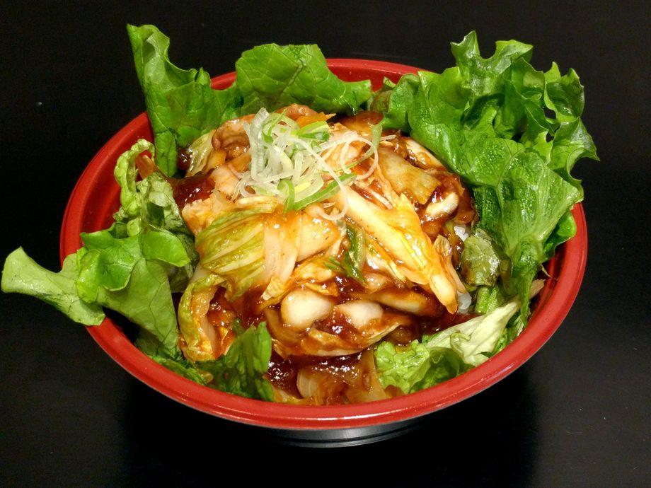 豚キム丼(700)