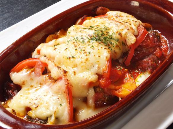 トマトとツナのチーズ焼き
