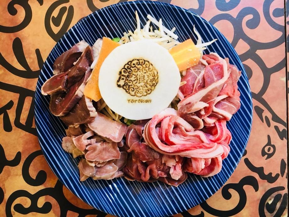 【毎月29日限定特別メニュー】ラム肉5部位食べ比べセット