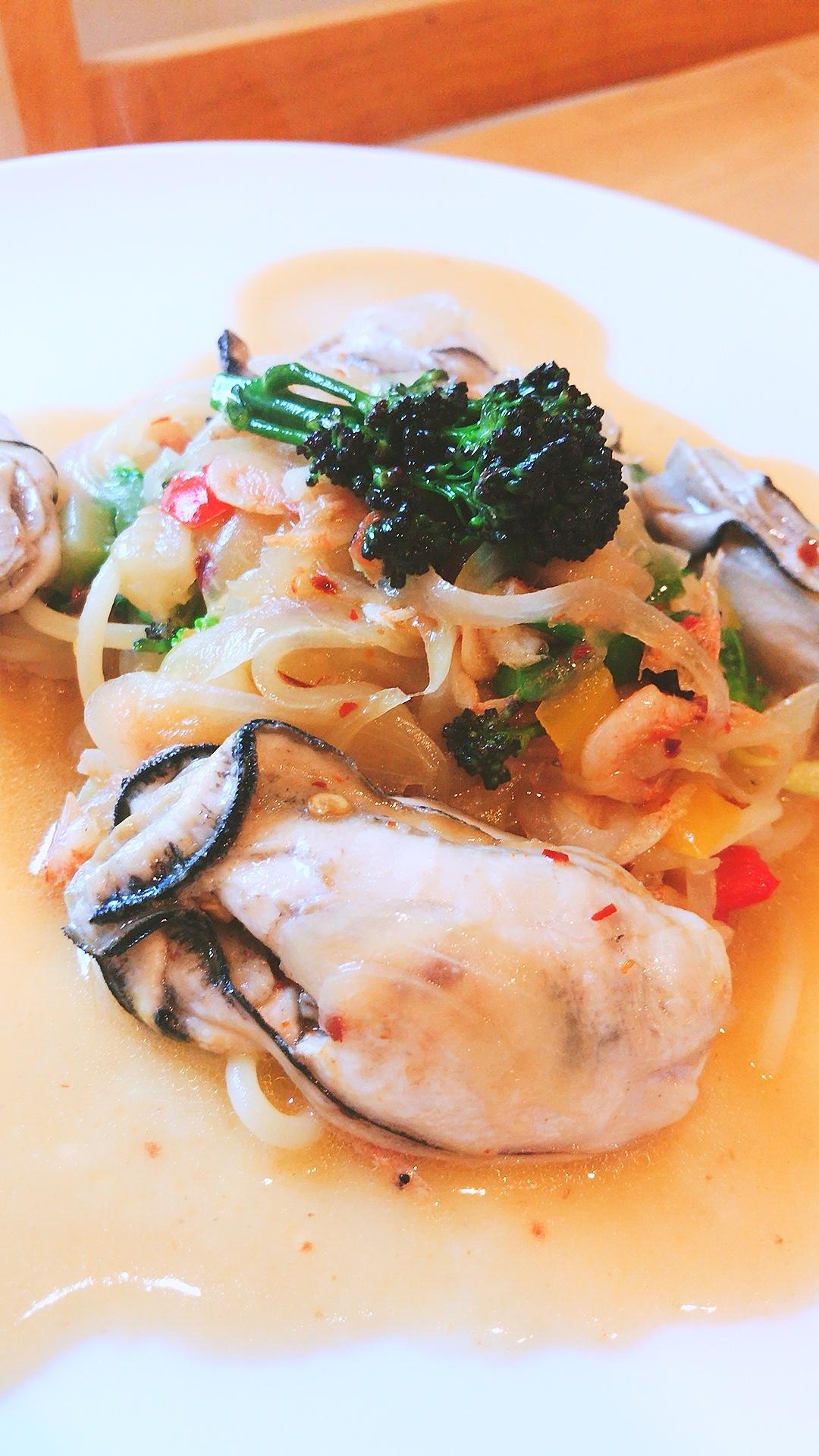 牡蠣ビアンコ