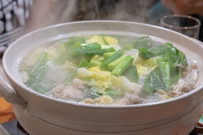 鶏ちゃんこ(水炊き風)