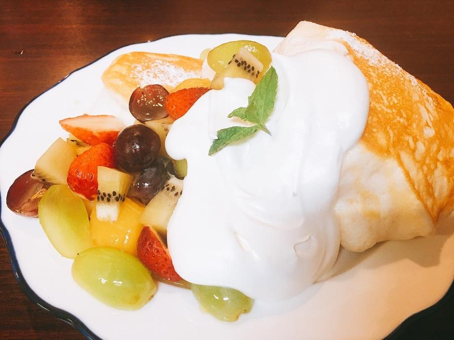 ふわしゅわフルーツパンケーキ