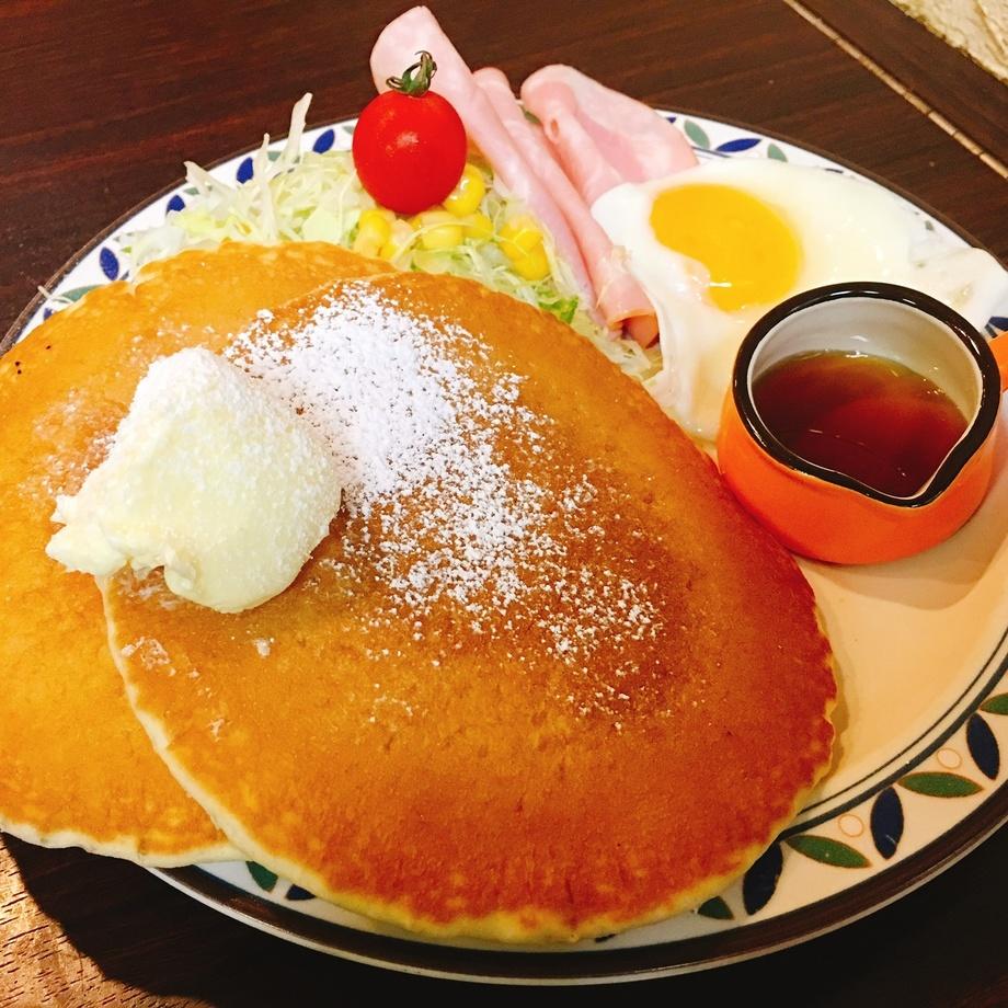パンケーキモーニング  8時30分〜