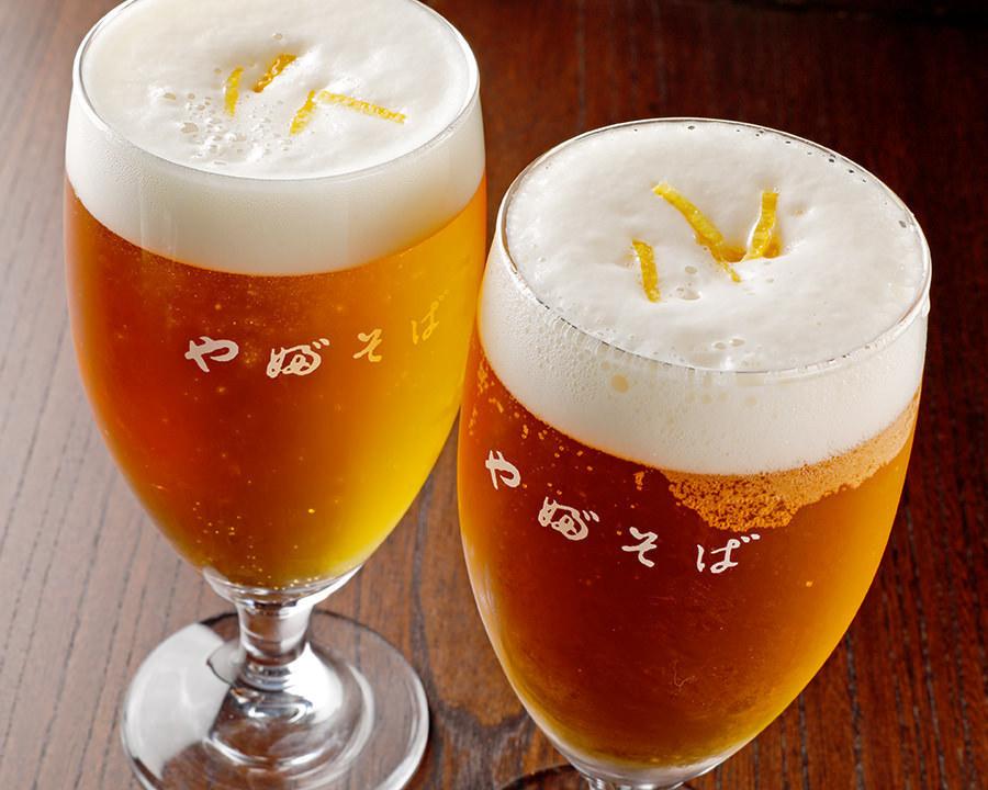 ゆずの香りビール