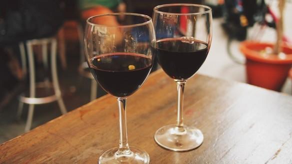 ワイン飲み放題プラン!  美味しいオーガニックハウスワイン飲み放題!
