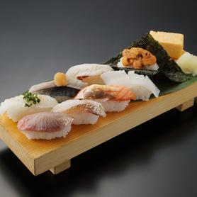 板前炙りにぎりセット Itamae Roasted Sushi Combo