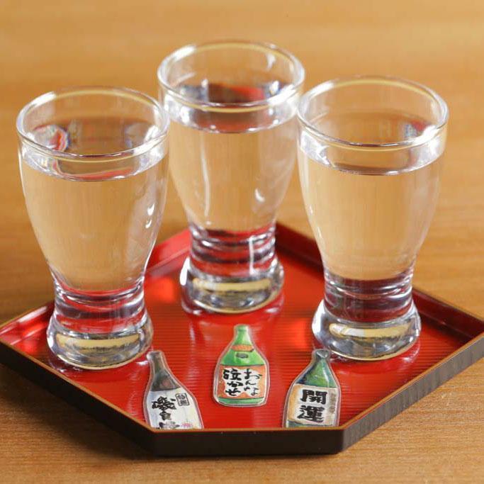 静岡のお酒のみくらべ(900円(税抜))