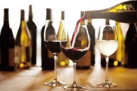 ランチタイム限定 ワイン飲み放題