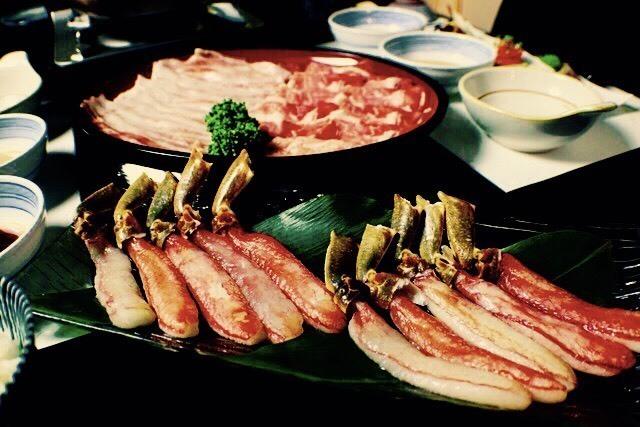 海鮮しゃぶしゃぶコース(7000円)