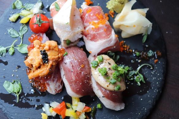 宴会に!~120分飲み放題 奈良県産倭鴨と鴨寿司 イベリコ豚堪能~
