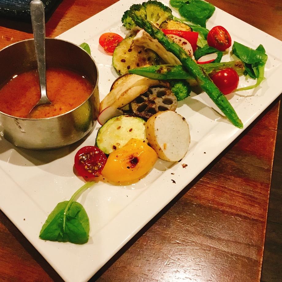 Vegetable~焼き野菜~(450円~)