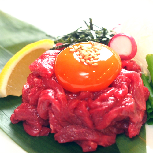 Sashimi ~肉刺し~(580円~)