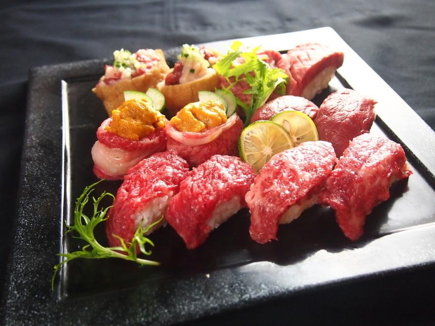 Sushi~肉の寿司~(180円~)