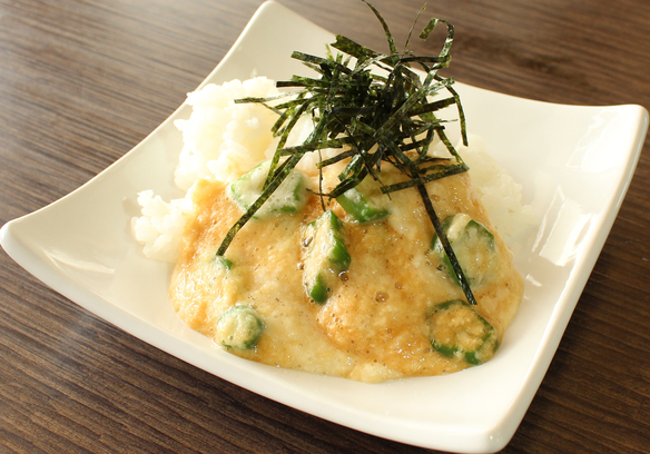 山かけオクラ丼(単品)