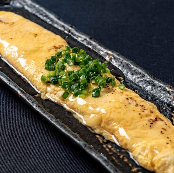 【鉄板焼】 ※写真は…チーズ入り出汁巻玉子