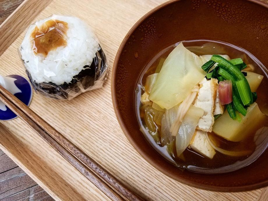 具だくさん野菜のおみそ汁セット(500円(税込540円))