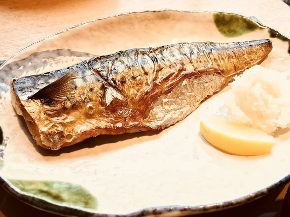 鯖の文化干し〜脂がのったノルウェー産です。